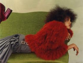 Aya Jones by Harley Weir for Self Service Magazine