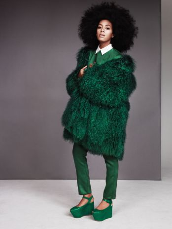 Solange for Entertainment Weekly